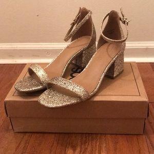 Woman's ASOS Honeydew Heeled Sandals